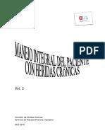Manejo Integral Del Paciente Con Heridas Crónicas.vol3