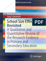 (SpringerBriefs in Education) Hans Luyten, Maria Hendriks, Jaap Scheerens (Auth.)-School Size Effects Revisited_ a Qualitative and Quantitative Review of the Research Evidence in Primary and Secondary