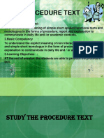 PROCEDURE TEXT.ppt
