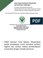 Laporan Kegiatan Upaya Kesehatan Masyarakat (Posyandu) - Copy