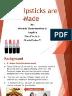 How Lipsticks Are Made