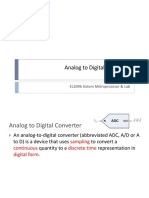 10-Analog to Digital Converter