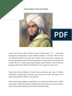 Sejarah Singkat Tuanku Imam Bonjol