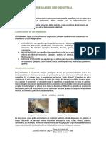 Minerales de Uso Industrial