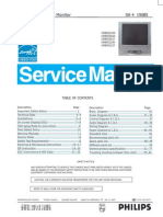 Philips 190B5 Service Manual