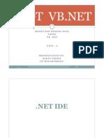 VB .NET Unit-2