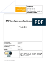 Pabadis (1999) - ERP Interface