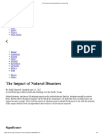 The Impact of Natural Disasters _ Sciencing