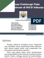 Penatalaksanaan Fisioterapi Pada Kondisi Parkinson Di RSUD Sidoarjo