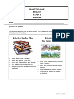 Ujian Penilaian 1- English Paper 2