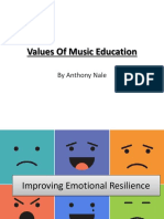 Values of Music Education