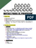 Amigo Invisible - Notas Profesor