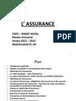 Cours FSJES Sur l'Assurance