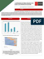 Razón y Emoción en La Búsqueda de Pareja Online de los Chilenos