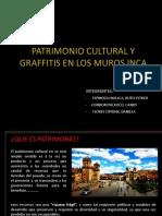 Graffitis en Muros Inca