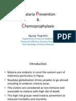 Slide Malaria Prevention Timika