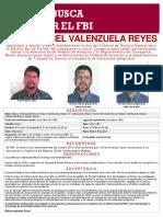 FBI ofrece $6 millones de recompensa por chileno prófugo vinculado a accidente aéreo