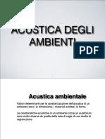 Acustica Ambientale