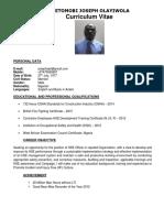 Joseph Ajetomobi Hse Cv