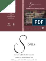 Articulo Revista Sophia 21 Definitivo INTELIGENCIA EMOCIONAL