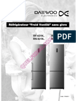 Daewoo Rf 422nt Frigo Notice 1666