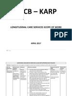 Longitudinal Care Scope of Work