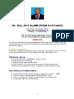 Anifowose Safety CV