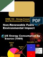 3. Non Renewable Fuels