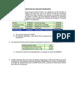 Ejercicios índices financieros