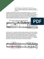 Análisis de Preludio VIII - Debussy