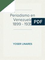 Periodismo en Venezuela (1899 - 1935)
