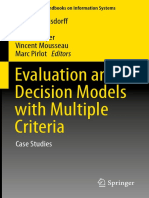 Evaluation an Decision Model With Multicriteria