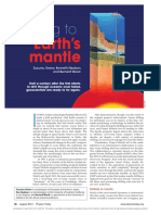 Drilling to Earth's mantle