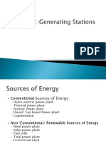 1 Generating Stations