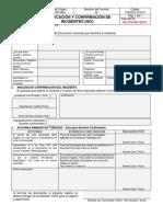 FORGCC-016-01 Rev. 02 Desviación Termobalanza