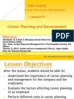 Lecture 9 Career Planning Powerpoint