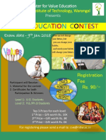 CVE Contest Poster