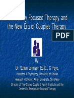 Johnson-EFT and New Era of Couples Therapy