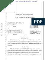 Regents v DHS - Injunction Halting DACA Termination