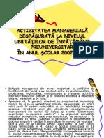 Bilant managamement 2008