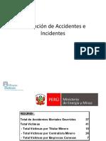 Prevención de Accidentes e Incidentes MINEM 2018