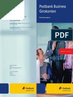 Postbank Business Giro Preisinformation 678 180 011 0717