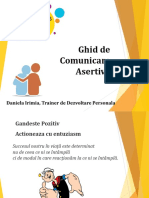 Ghid de Comunicare Asertiva Daniela Irimia