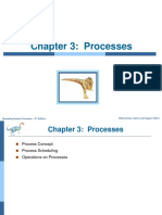 Operating Systems Concepts -- Processes