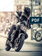 2017 Street Motorcycles