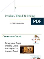 Session-7 Product, Brand & Pricing