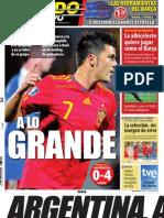 Mundo deportivo  04-09-2010