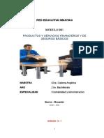 Modulo de Prod. y Serv. Fin y de Sb.