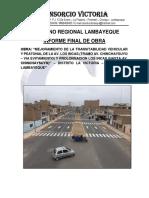 Informe Final Consorcio La Victoria