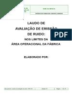 Laudo de Avaliacao Rudio Modelo